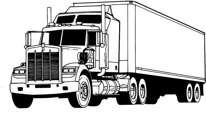 desenhos para colorir caminhões imagens animadas gifs animados