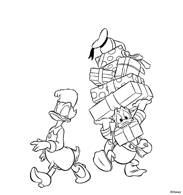 desenho-colorir-pato-donald-imagem-animada-0044
