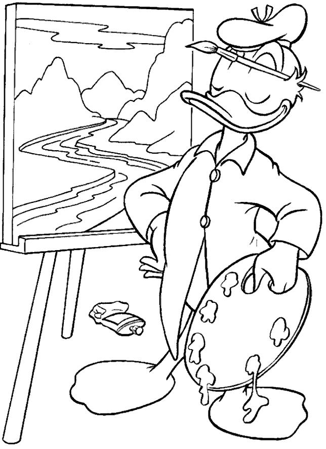 desenho-colorir-pato-donald-imagem-animada-0051
