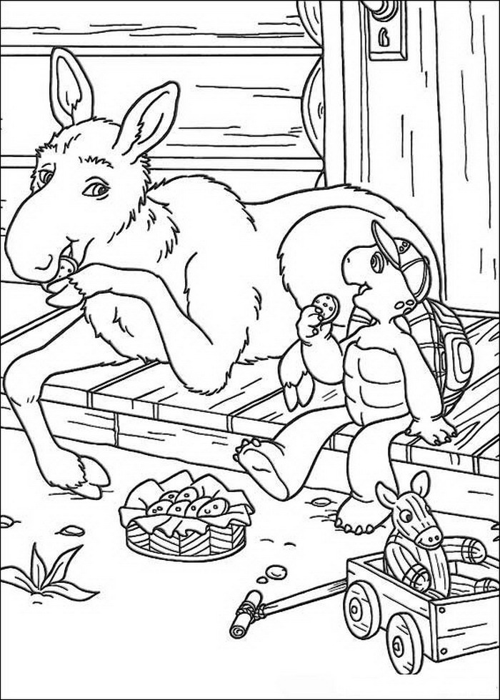 desenho-colorir-franklin-a-tartaruga-imagem-animada-0018