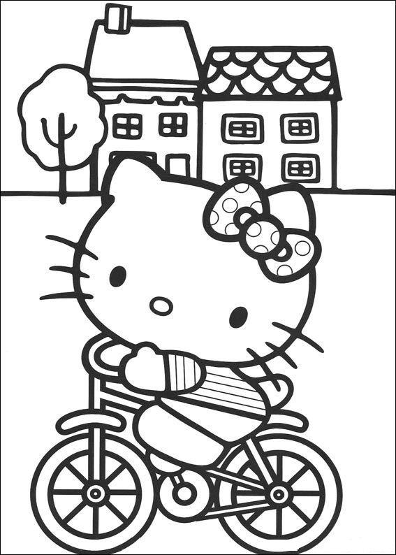 Desenhos Para Colorir Hello Kitty Imagens Animadas Gifs