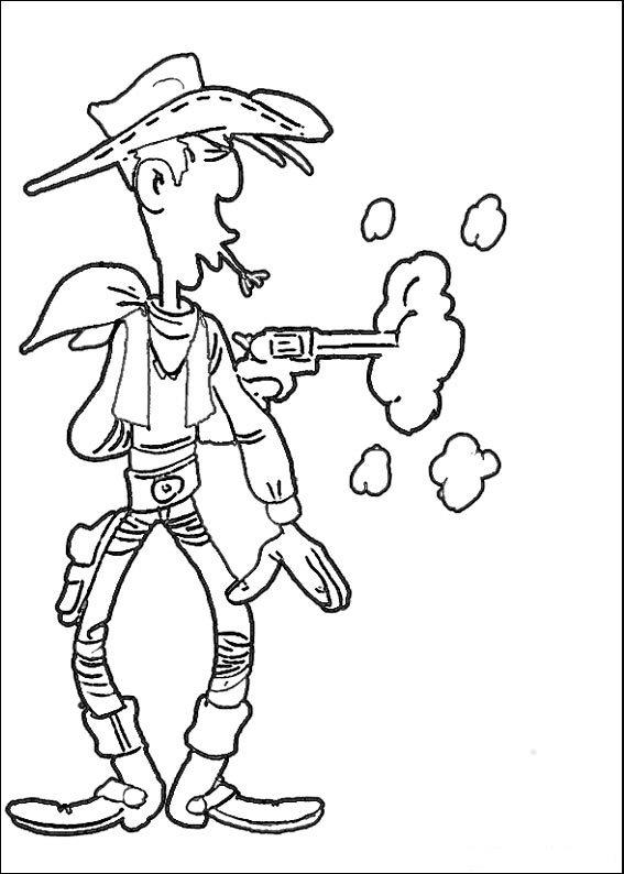 desenho-colorir-lucky-luke-imagem-animada-0004